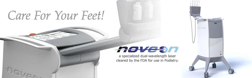 Noveon® Toenail Laser is a revolutionary NEW treatment for infected fungal nails.