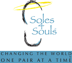 Donate gently used shoes to Soles 4 Souls